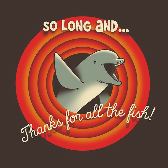 So long and thanks for all the fish ringtone