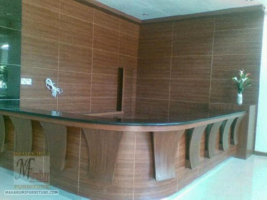 Bengkel Workshop Jasa Kontraktor Interior Furniture Desain Kantor Ruang Kerja Staff Direktur Rapat Meja Resepsionis Perkantoran Office Meeting Room Reception Front Office Confrence Hall