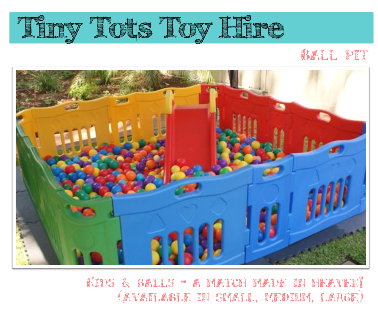 One Lovely Day It S Party Time At Tiny Tots Toy Hire