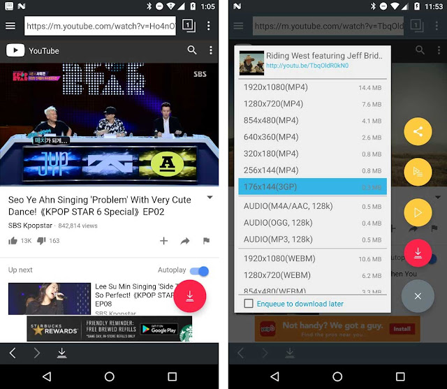 تحميل برنامج tubemate تحميل الفيديوهات من اليوتيوب