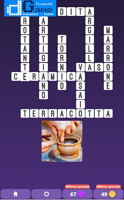 Soluzioni One Clue Crossword livello 16 schemi 5 (Cruciverba illustrato)  | Parole e foto