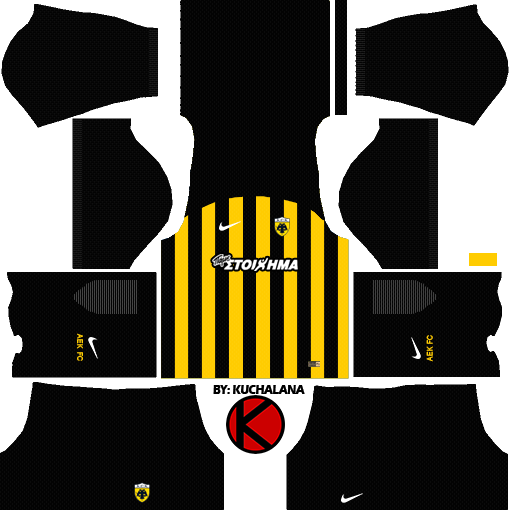 AEK F.C. Kits 2017/2018 - Dream League Soccer
