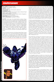 Darkhawk Superheroe
