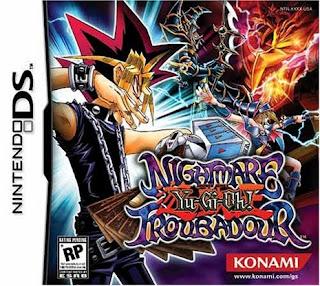 Yu-Gi-Oh! Nightmare Troubadour NDS en español mega
