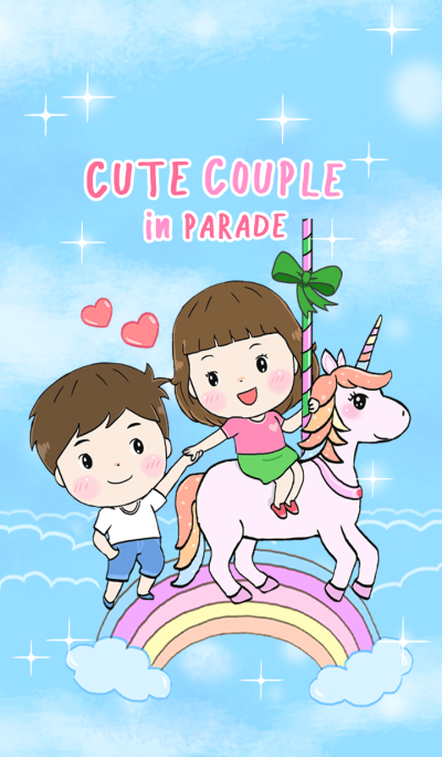 Cute Couple in Parade