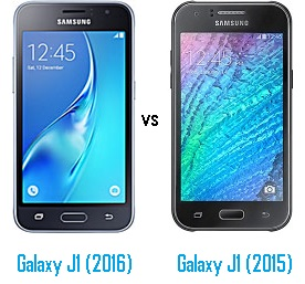 Perbandingan Samsung Galaxy J1 (2016) vs J1 (2015)