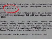 Beredar Informasi diklaim Resmi, THR PNS dan Pensiunan Cair 5 Juni, Gaji 13 Dibayar 3 Juli, Dibantah Kemenkeu !