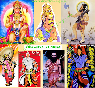 Picture of Seven Chiranjeevis In Hinduism
