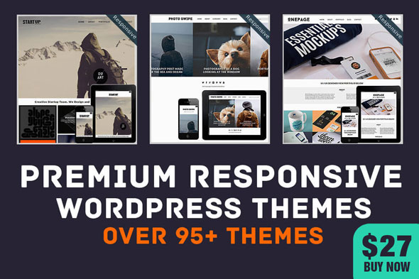 Free Demo And Download  MightyDeals 95+ Premium Responsive WordPress Themes: