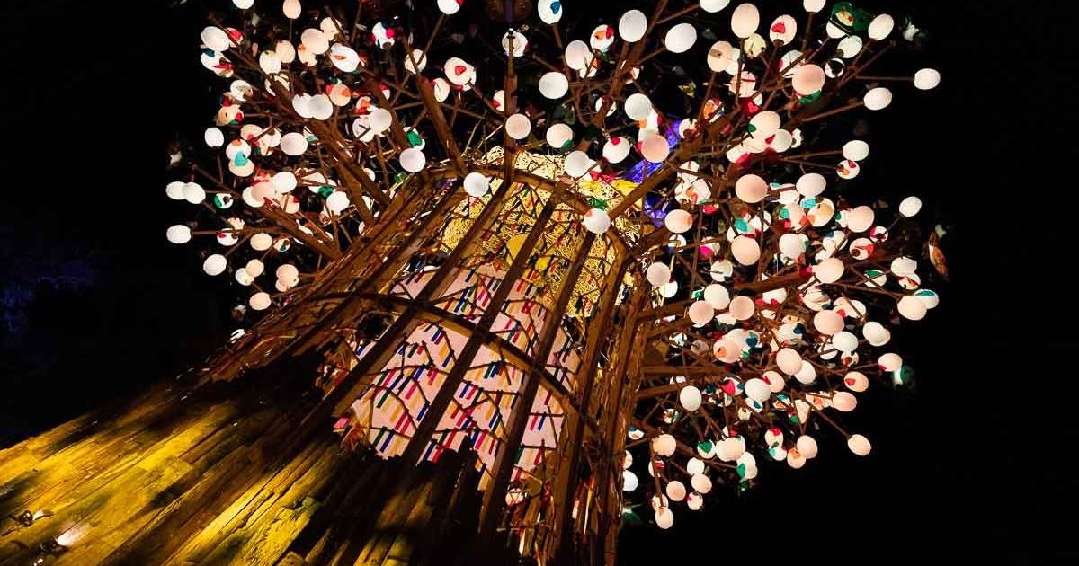 史上最華麗 2020台灣燈會 璀璨台中 自然、人文與藝術三方完美對話
