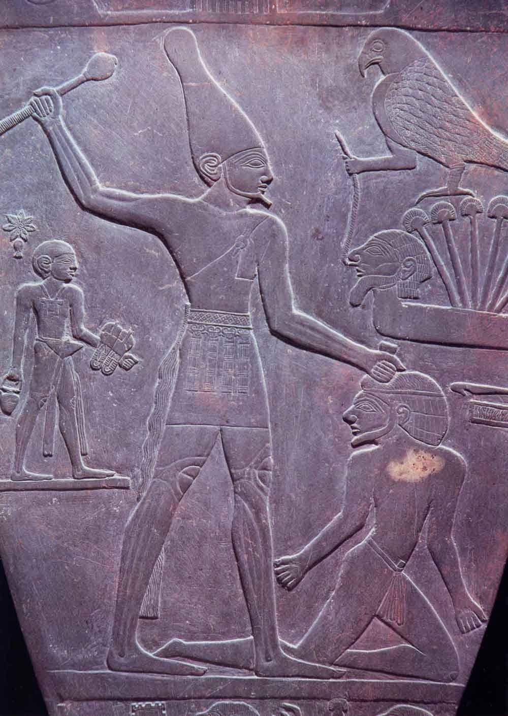 the importance of king narmers palette to egypt