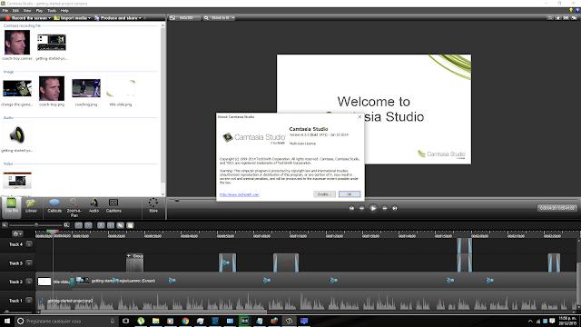 Camtasia Studio editor de video version 8