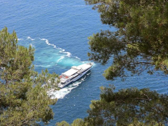 Uitzicht in Capri