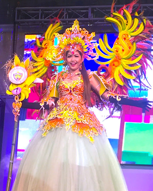The Miss Teen Bansud Mindoro pageant mary-the-host