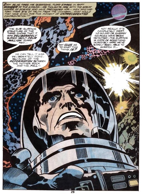 2001: La Odisea del Espacio de Jack Kirby