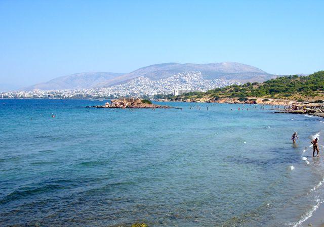Praias Atenas, Grécia