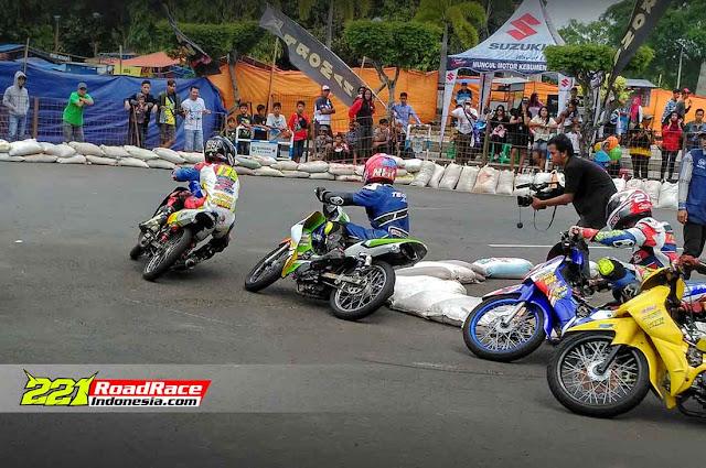 Hasil Road Race Kebumen 2017, Event Lokal Rasa Nasional dan Pestanya Para UNDERBONER