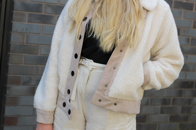 how to wear fleece fashion blog