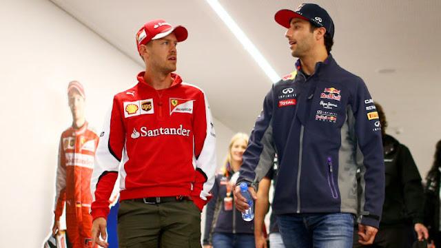 Ferari Tertarik Pada Ricciardo, Karena Dia Pembalap Yang Bisa Kalahkan Vettel?