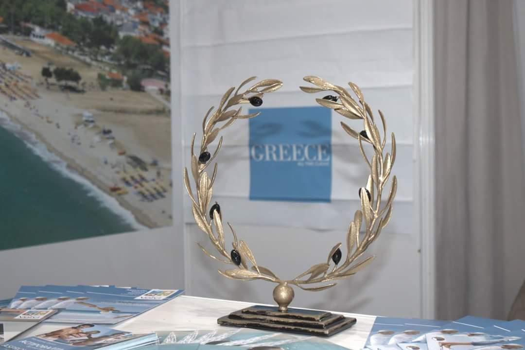 Ο Δήμος Βόλβης βραβεύτηκε στην Τουριστική Έκθεση του Νις