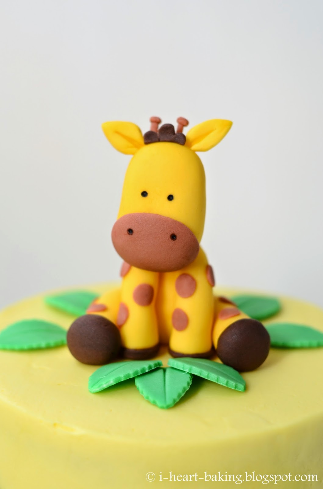 How To Make A Baby Giraffe Cake