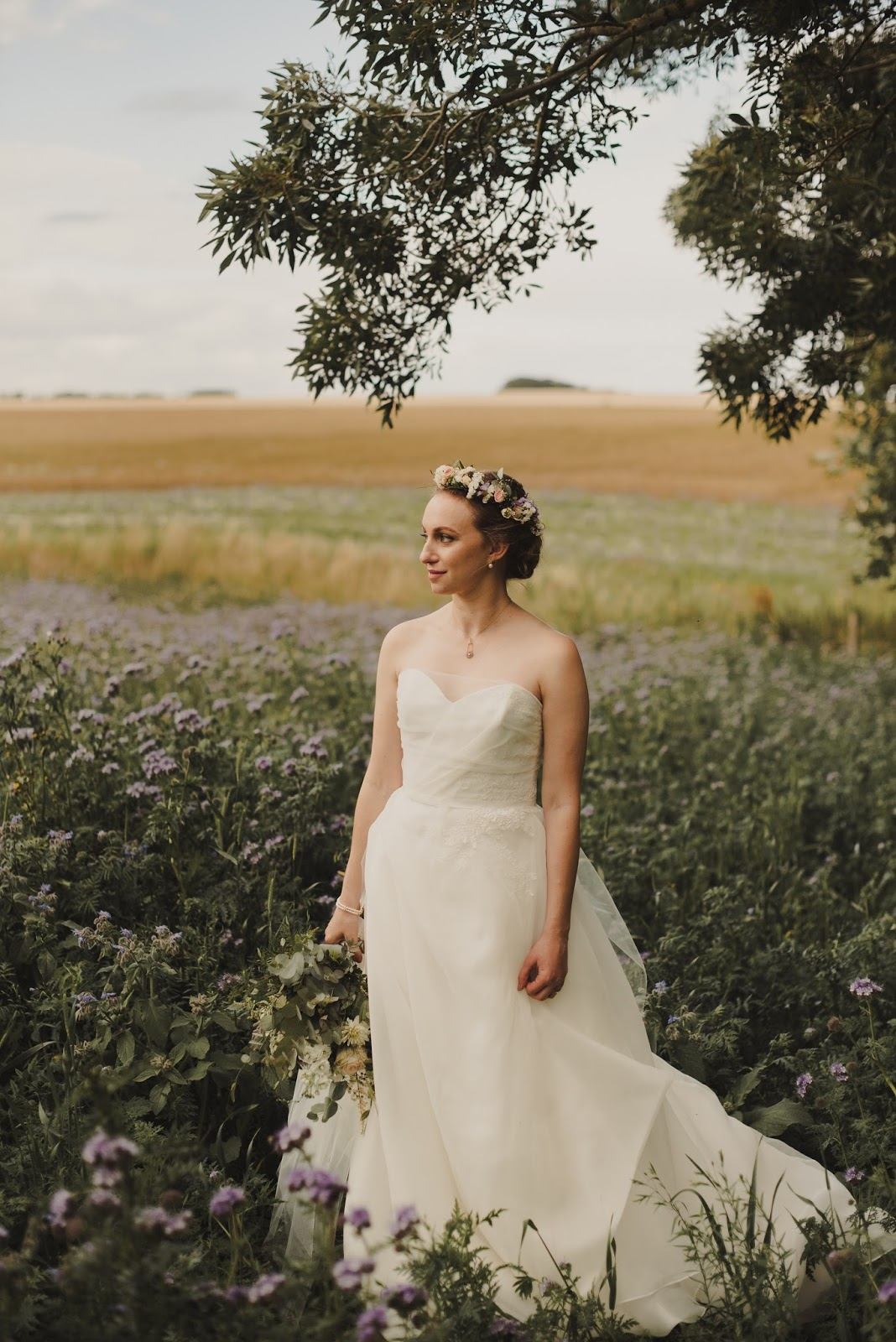 Scottish bridal boho bride makeup inspiration