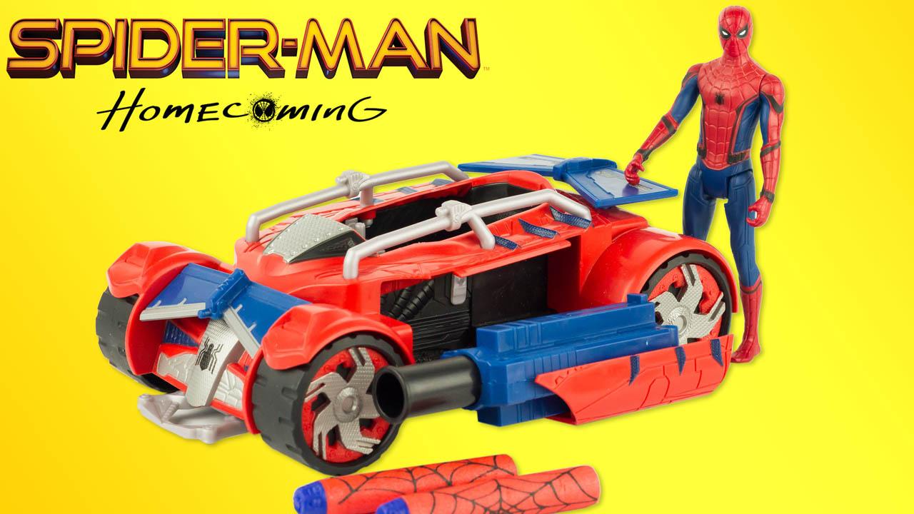 Super h ros et compagnie spider man homecoming voiture - Voiture spiderman ...