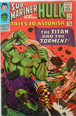 Tales to Astonish #79, Hulk vs Hercules