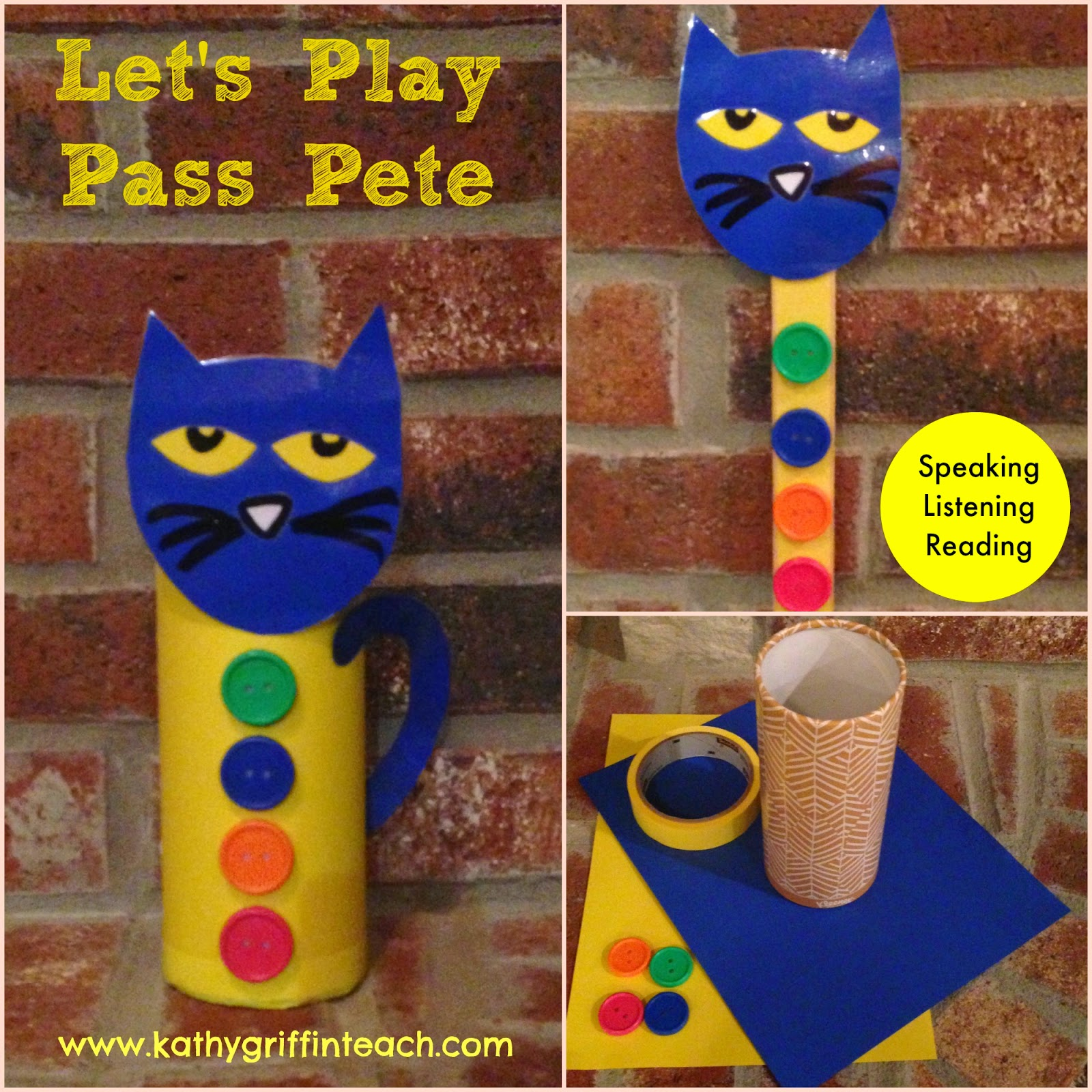 Kathy Griffin S Teaching Strategies Listening And Learning Activities With Pete The Cat