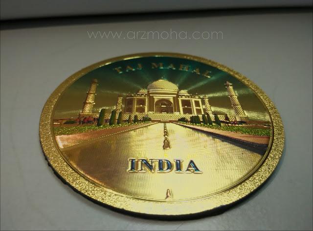 Taj Mahal, Fridge Magnet, cenderahati cantik, cara hargai pembaca blog,
