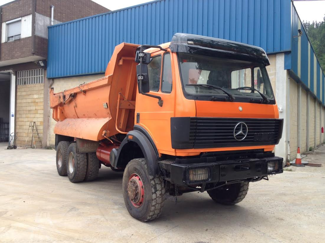 Used mercedes benz 2638 6x6 truck for Mercedes benz used vehicles