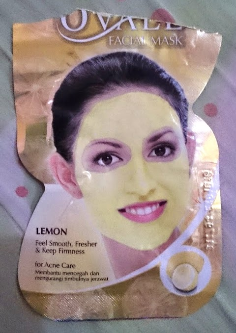 Review Ovale Face Mask Lemon