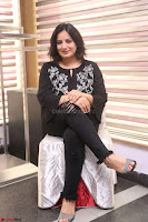Cute Poja Gandhi in black dress at Dandupalyam 2 Movie press meet  ~  Exclusive 11.JPG