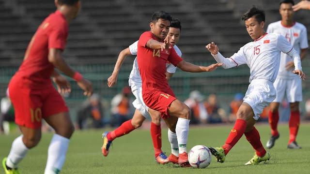 Kalahkan Vietnam 1-0, Garuda Muda Lolos ke Final Piala AFF U-22