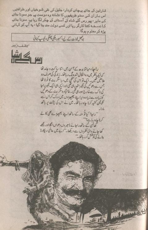 free online reading Rasgullay Shah by Kashif Zubair (Jaleel series)