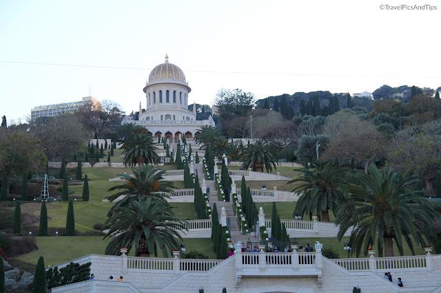 Les jardins d'Haïfa