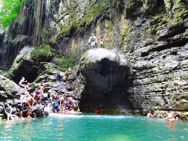 Paket tour full day green canyon