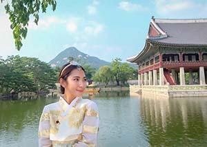 Dinda Kirana di Jepang