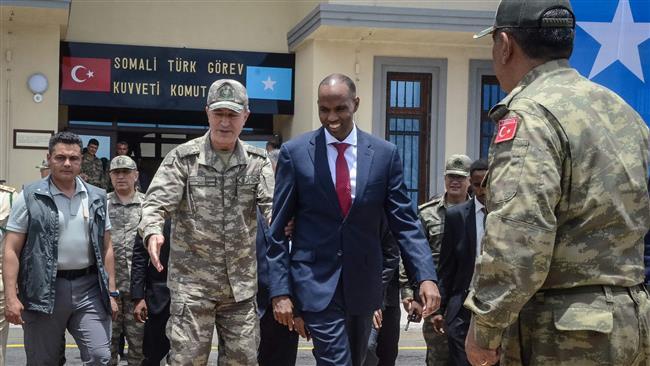 Turkey opens military base in Mogadishu