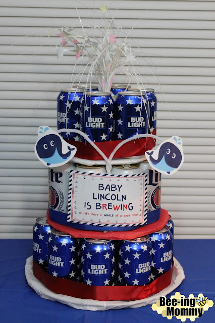 Couples Baby Shower Diaper Amp Beer Party