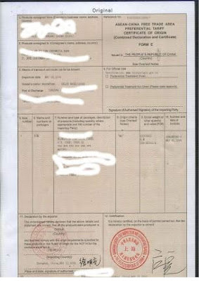 Import FCL  Jepang - Jakarta With Form  IJEPA (Example Form D,Form E,Form AK)