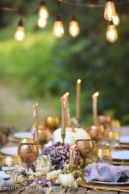 The softer side of autumn table