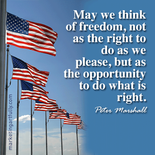 Patriotic 4th of July Quotes & Sayings 2017