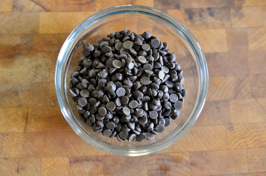 Bowl of Mini Chocolate Chips | Taste As You Go
