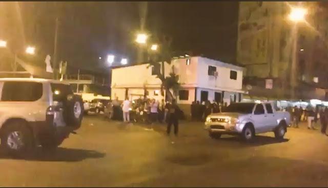 Tiroteo entre colectivos y Guardias Nacionales en Petare