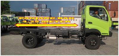 truck hino dutro 130 hd 4x4 surabaya