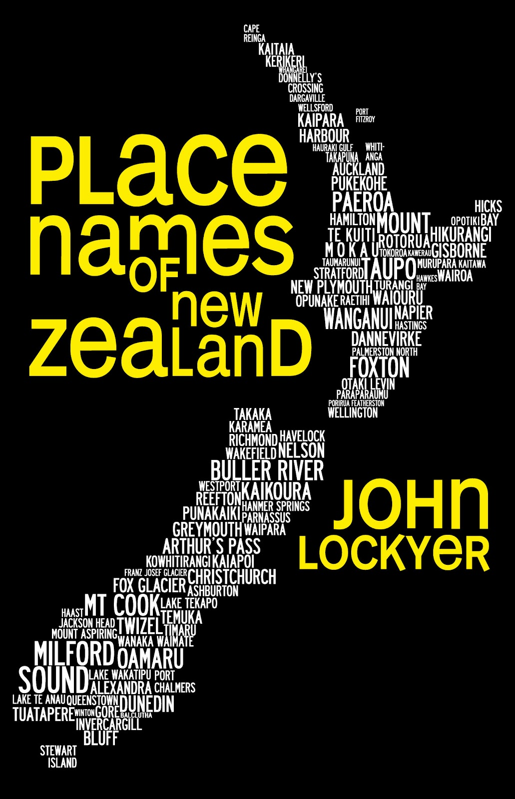 zealand names place john copyright books lockyer beattie meanings titles many bookstores concerns owing harper recalling collins interesting note unofficial