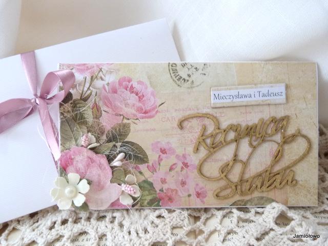 kartka z napisem Rocznica Ślubu