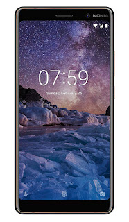 Nokia 7 Plus Black-Copper, 64GB
