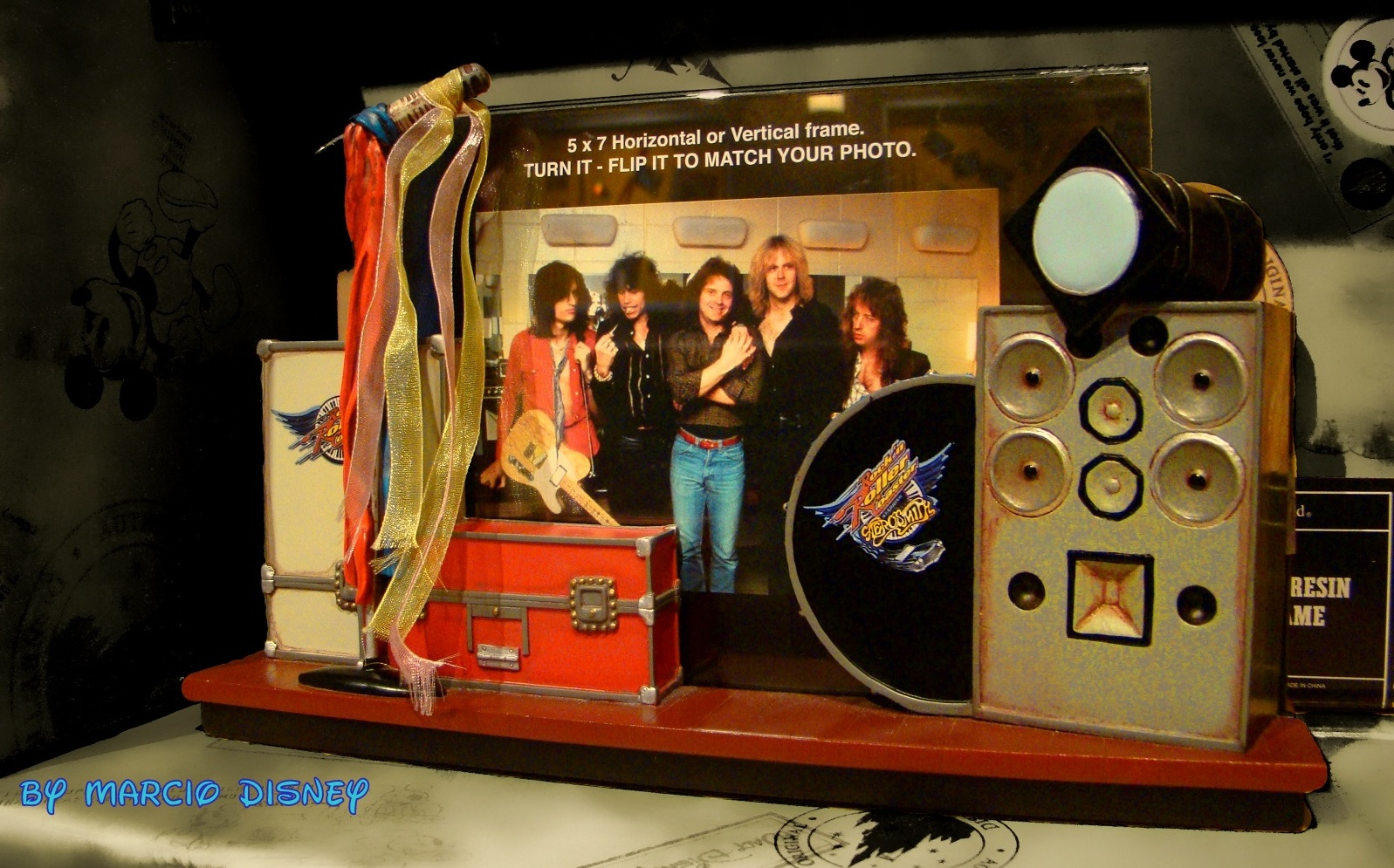 The Walt Disney World Picture Of The Day Aerosmith Stage